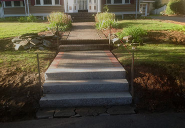 Outdoor Steps Quality Landscaping